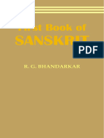 Bhandarkar First Book of Sanskrit 1883