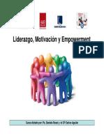 Liderazgo Empowerment Motivacion 1