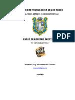 1. Derecho Electoral - p1