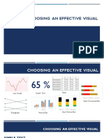 Choosing an Effective Visual