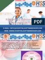 HospitalSoftwareShop - Radiology Information System RIS