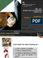 BDC 304 Co Sec N Auditor Week 8
