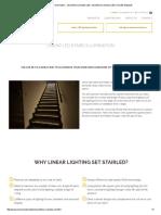 Linear LED Stairs Illumination __ Oświetlenie Schodów LED, Oświetlenie Schodowe LED _ SOLED 5iałystok