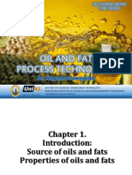 Oils and Fats Processing Technology - Lecture Note
