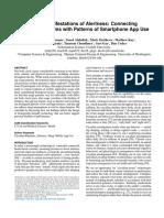 Mobile Manifestations of Alertness- Connecting Biological Rhythms With Patterns of Smartphone App Use