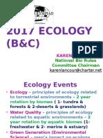 2017 Ecology PPt