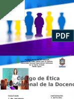 CODIGO ETICA DOCENTE