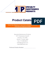 Specialty Maintenance Product Catalog and Price List