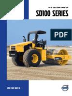 Volvo Single Drum Compactors Sd100 Series