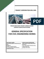 MRT Works General Specification