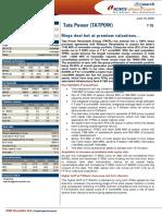 IDirect TataPower CoUpdate Jun16