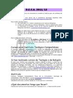 Información DECA 2011-12