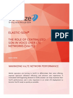 Cellwize WP Elastic SON for VoLTE Networks