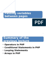 Lec12 (Passing Data Between Page)