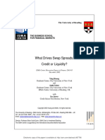 What Drives Swap Spreads Credit or Liquidity Huang 2003
