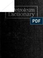 Petroleum Dictionary