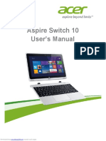 Aspire Switch 10E manual