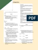 Teste Diagnostico Correcao- 10ºano