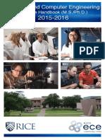 Electrical Computer Engineering Graduate Handbook