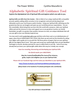 alphabeticspiritualgiftguidancetool.pdf | altruism | spirituality