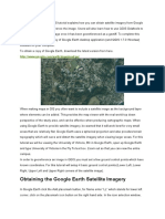 How You Can Obtain Satellite Imagery From Google Earth