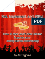 How to Use Your Core Values to Grow Your Swing Dance Community by Ali Taghavi Ver. 1.2