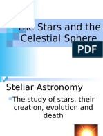 the stars and the celestial sphere