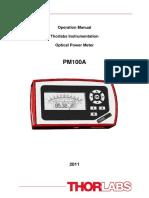PM100A Manual