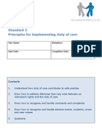5.Principles for Implementing Duty of Care