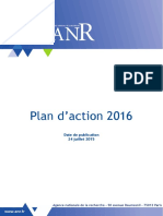 ANR Plan Action 2016