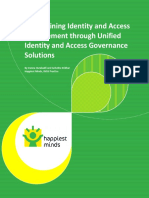 Streamlining Identity and Access Management Through Unified Identity and Access Governance Solutions