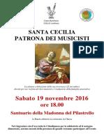 19nov16 - Locandina S. Cecilia Banda