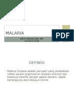 Malaria Ratoe