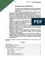 RD 1812-1994 Reglamento General Carreteras Consolidado 2009