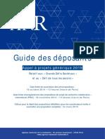 Pa Anr 2015 Guide Deposants