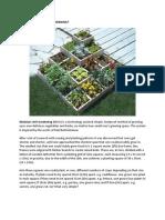 What is Modular Unit Gardening