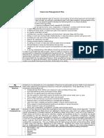 classroom management plan template