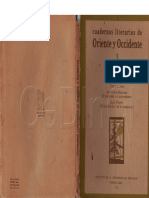 Cuadernos de Oriente y Occidente N° 1