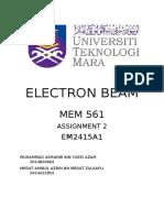Electron Beam