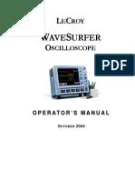 Ocilloscope Lecroy 454