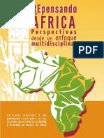 2012, VVAA, REPENSANDO AFRICA. Perspectivas Desde Un Enfoque Multidisciplinar