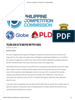 Telcos Ask CA to Gag PCC on P70-B Deal • the Market Monitor