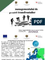 Ciclul Managementului de Proiect Transfrontalier