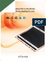 Heating film
