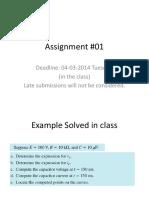 Assignment#01