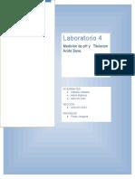 LABORATORIO - Medición de PH y Titulación Ácido Base