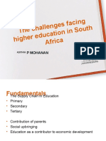 CRITICAL ISSUES FACING AFRICAN EDUCATION