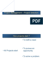 Project Selection Process Revised