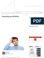 Demystifying ARC RRCs