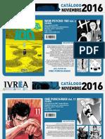 Proximas Novedades Ivrea - Noviembre de 2016